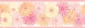 Becca Pink Daisy Chain Border