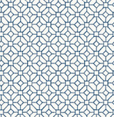 Gigi Navy Geometric  2657-22238 Wallpaper