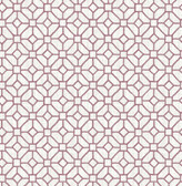 Gigi Plum Geometric  2657-22241 Wallpaper