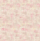 A-Street Prints Avalon Pink Weave
