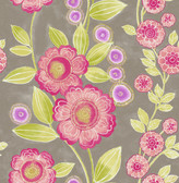 A-Street Prints Bloom Pink Floral