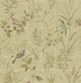 Imperial Neutral Garden Chinoiserie  wallpaper