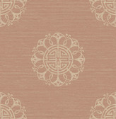 Lien Coral Fountain Medallion  wallpaper