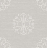 Lien Grey Fountain Medallion  wallpaper
