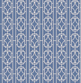 Empire Sapphire Lattice  wallpaper