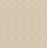 Empire Beige Lattice  wallpaper