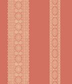 Brynn Coral Paisley Stripe  wallpaper