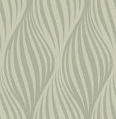 Distinction Taupe Ogee  Contemporary Wallpaper