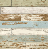 Scrap Wood Sky Blue Weathered Texture