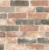 Reclaimed Bricks Dusty Red Rustic