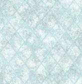 Mercury Glass Blue Distressed Metallic