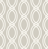 Infinity Taupe Geometric Stripe  wallpaper