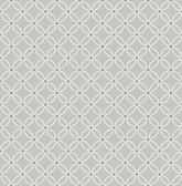 Kinetic Grey Geometric Floral  wallpaper