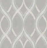 Frequency Grey Ogee  wallpaper