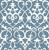 Axiom Blue Ironwork  wallpaper