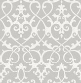 Axiom Grey Ironwork  wallpaper