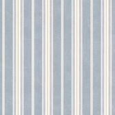 Cooper Denim Cabin Stripe Wallpaper