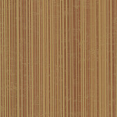 Dylan Burnt Sienna Candy Stripe Wallpaper