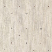 Bryndle Grey Barnstar & Sprigs Wallpaper
