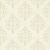 Arronsburg Linen Damask Wallpaper