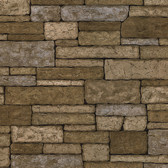 Clayton Neutral Stone Texture Wallpaper