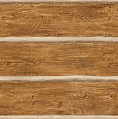 Chinking Chestnut Wood Panel Wallpaper