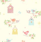 Birdhouses Turquoise Birds