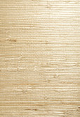 Bing Qing Beige Grasscloth Wallpaper