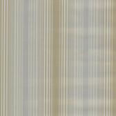 Casco Bay Pewter Ombre Pinstripe Wallpaper