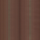 Casco Bay Burgundy Ombre Pinstripe Wallpaper