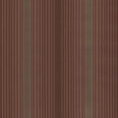 Casco Bay Burgundy Ombre Pinstripe Wallpaper