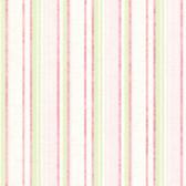 Belfast Pink Galop Stripe Wallpaper