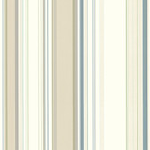 Cape Elizabeth Beige Lookout Stripe Wallpaper