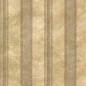 Castine Moss Tuscan Stripe Wallpaper