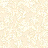 DE8811-Candice Olson Shimmering Details Modern Lace Yellow-White Wallpaper