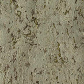 Designer Resource Grasscloth Metallic Cork Wallpaper