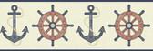 Nautical Living Nautical Spot Border