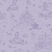 WALT DISNEY KIDS II SOFIA TOILE WALLPAPER
