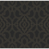 COD0126 - Candice Olson Embellished Surfaces Allure Black Wallpaper