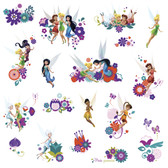 WALT DISNEY KIDS II BEST FAIRY FRIENDS WALL DECAL
