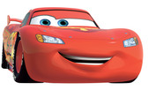 WALT DISNEY KIDS II LIGHTNING MCQUEEN # 95 GIANT WALL DECAL