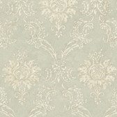 Neutrals Devon Damask Wallpaper
