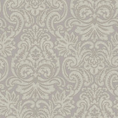 Beige Dante Damask Wallpaper