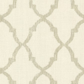 Oscar Champagne Fretwork Wallpaper