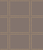 Gridlock Brown Geometric Wallpaper