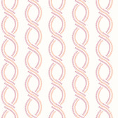 Helix Pink Stripe Wallpaper