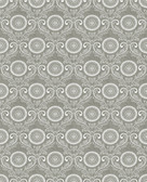 Jubilee Grey Medallion Damask Wallpaper