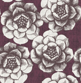 2763-24207 Fanciful Plum Floral Wallpaper
