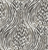 2763-24204 Splendid Platinum Animal Print Wallpaper