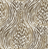 2763-24203 Splendid Brown Animal Print Wallpaper